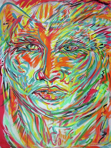 Ranchera Wall Art - Painting - Adelita 5 by Jimmy Longoria