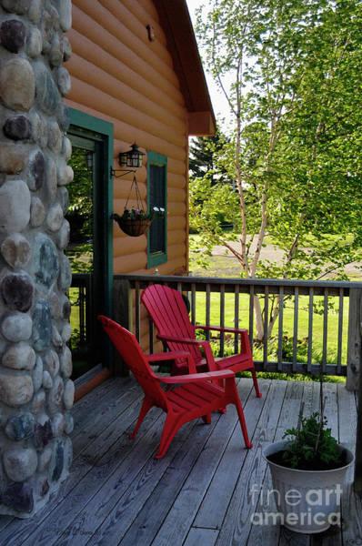 Adirondack Mountains Painting - Adirondack Bliss by Diane E Berry