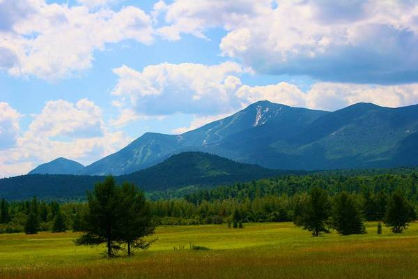 Photograph - Adirondack Mountain Landscape by Polly Castor