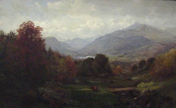Adirondack Mountains Painting - Adirondack Mountains by MotionAge Designs