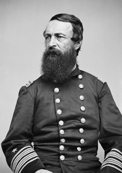 Porter Photograph - Admiral David Dixon Porter by War Is Hell Store