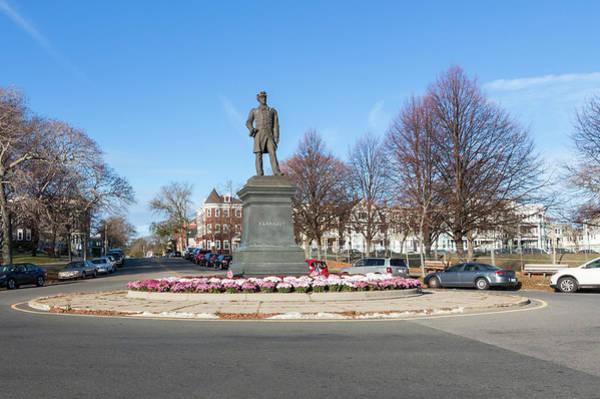 Photograph - Admiral Farragut Statue by Brian MacLean