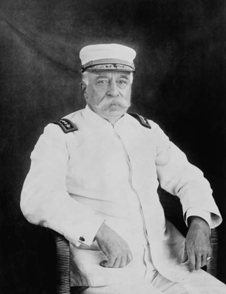 Naval Wall Art - Photograph - Admiral George Dewey by War Is Hell Store
