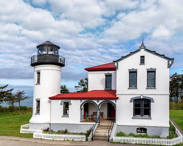 Photograph - Admiralty Head Lighthouse by Harold Coleman