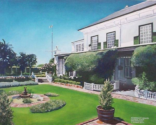Painting - Admiralty House by Tim Johnson