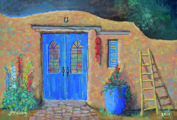 Adobe Walls Painting - Adobe Hermosa by Jerry McElroy