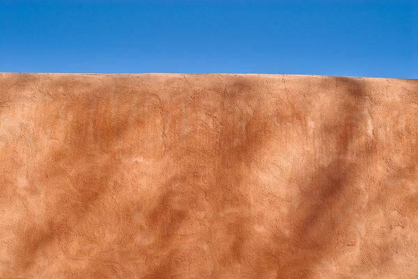 An Photograph - Adobe Wall Santa Fe by Steve Gadomski