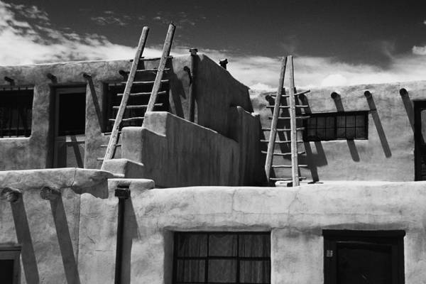Acoma Photograph - Adobe Walls Of Acoma Pueblo by George Oze