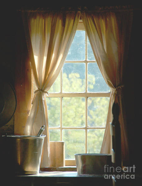 Photograph - Adobe Window Light by Kathleen Gauthier