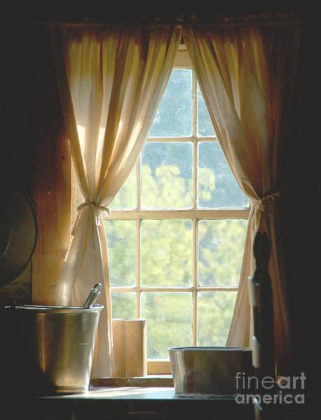 Adobe Window Light Art Print
