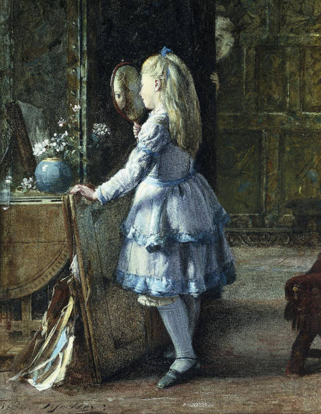 Wall Art - Painting - Adolescence by William Jabez Muckley
