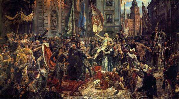 Painting - Adoption Of The 1791 Polish Constitution by Jan Matejko