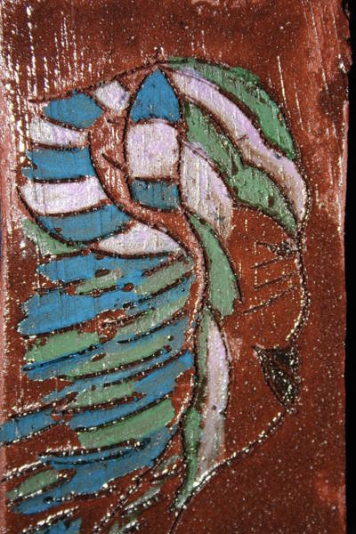 Painting - Adornment Tile by Gloria Ssali