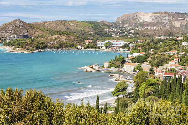 Photograph - Adriatic Coast In Croatia by Didier Marti
