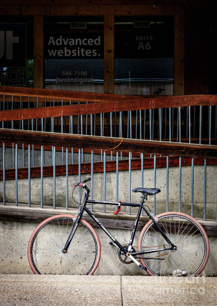 Photograph - Advanced Website Bicycle by Craig J Satterlee