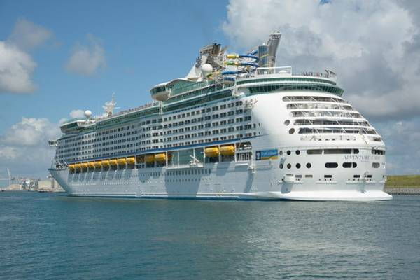 Photograph - Adventure Of The Seas In Port  by Bradford Martin