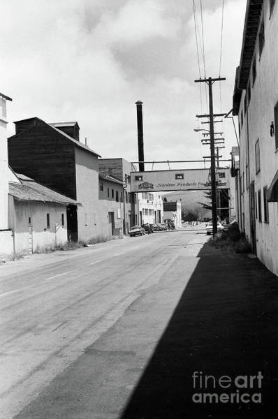 Photograph - Aenas Sardine Paciking Co, Cannery Row Circa 1970 by California Views Archives Mr Pat Hathaway Archives