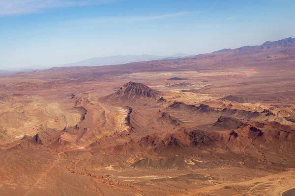 Photograph - Aerial - Mars On Earth by Georgia Mizuleva