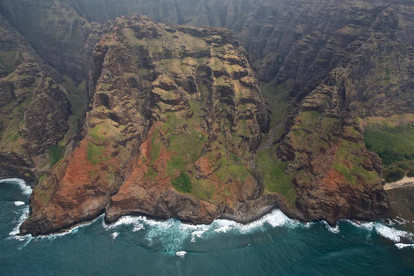 Photograph - Aerial Na Pali by Steven Lapkin