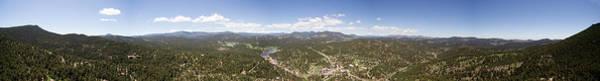 Photograph - Aerial Pano Of Evergreen by Matt Swinden
