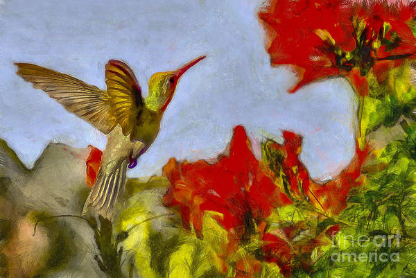 Nectar Mixed Media - Aerial Refueling by Julio Haro