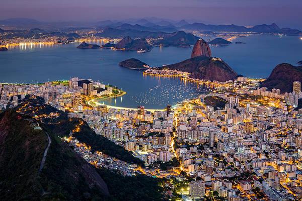 Photograph - Aerial Rio by Mihai Andritoiu