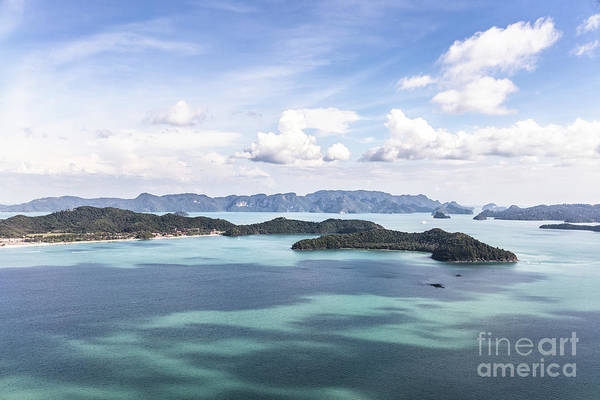 Photograph - Aerial View Of Langkawi by Didier Marti