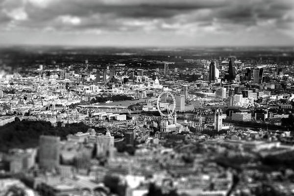 Aerial View Of London 6 Art Print