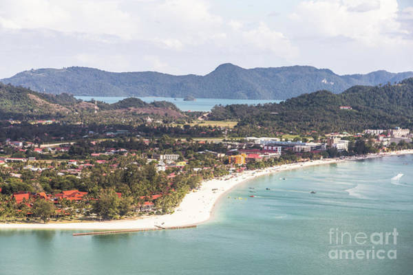 Photograph - Aerial View Of Pantai Cenang by Didier Marti