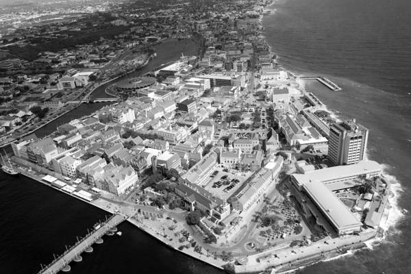 Photograph - Aerial View Of Willemstad by For Ninety One Days