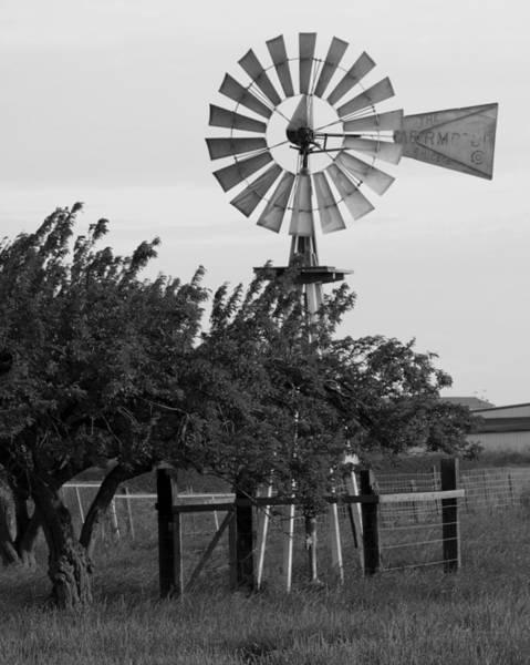 San Joaquin Valley Photograph - Aermotor Windmill San Joaquin County Ca by Troy Montemayor