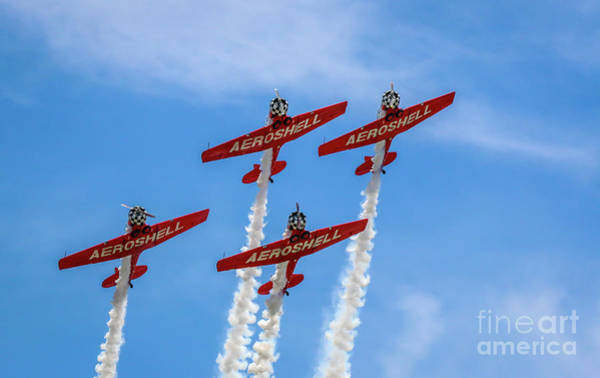 Photograph - Aeroshell Formation Flying by Tom Claud