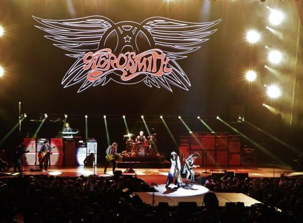 Steven Tyler Photograph - Aerosmith by Debra Farrey