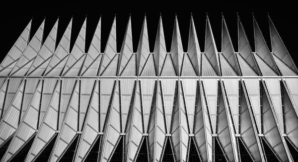 Photograph - A F A Cadet Chapel by Rand