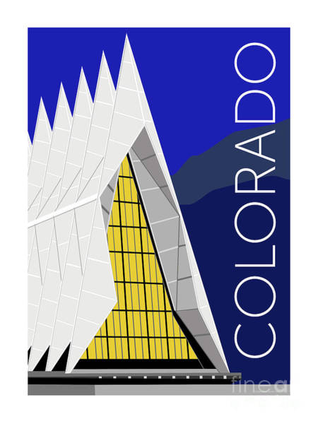 Digital Art - Colorado Afa Chapel by Sam Brennan