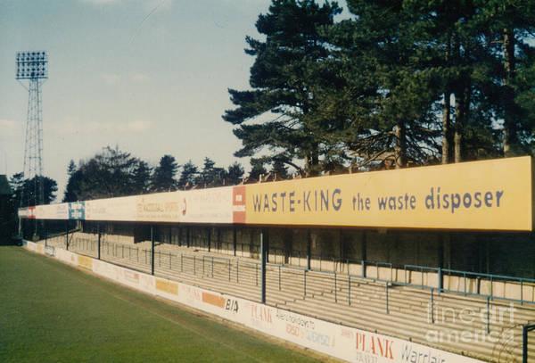Wall Art - Photograph - Afc Bournemouth - Dean Court - Nw Littledown Avenue Terrace 1 - 1980's by Legendary Football Grounds