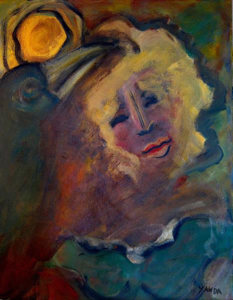 Painting - Affection Of Raven by Katt Yanda