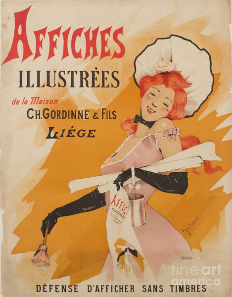 Ch Painting - Affiches Illustrees De La Maison by MotionAge Designs