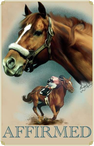 Affirmed With Name Decor Art Print