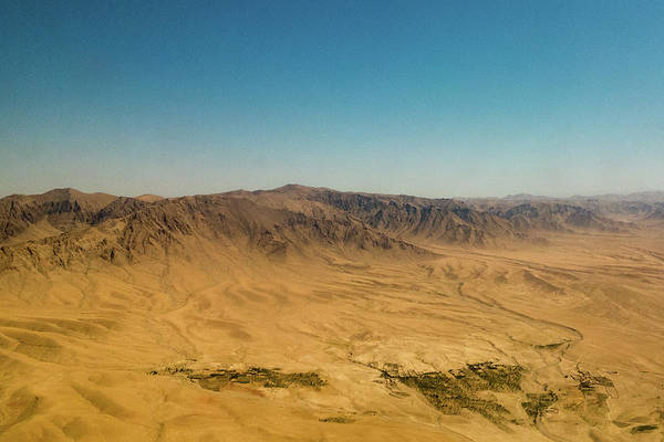 Photograph - Afghanistan Aerial Scenic Mountain View by SR Green