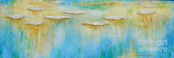 Painting - Afloats Crystalizing by Kaata    Mrachek
