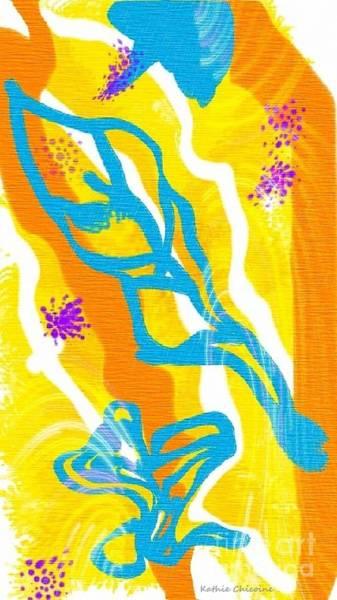 Digital Art - Aflutter by Kathie Chicoine