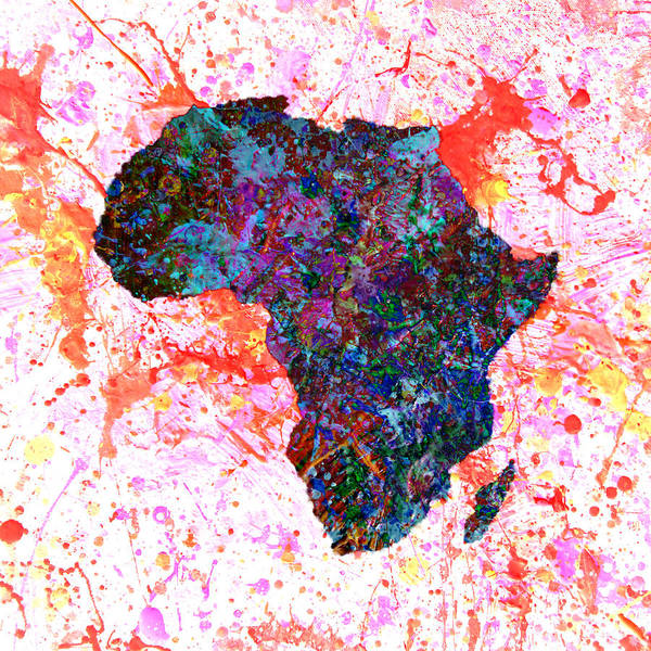 Black Panther Mixed Media - Africa 12a by Brian Reaves