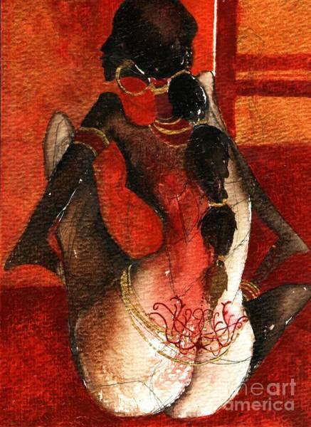 African Girl Art Print by Maya Manolova