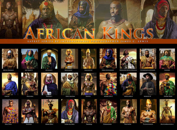 James Photograph - African Kings Poster by African Kings