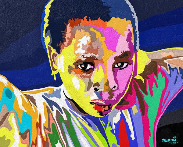 Individuality Digital Art - African Rainbow by Anthony Mwangi