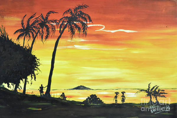Nigeria Painting - African Sands by John Bernards