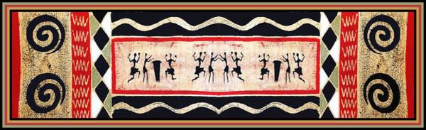 Tribal Dance Digital Art - African Tribal Ritual Dance by Vagabond Folk Art - Virginia Vivier