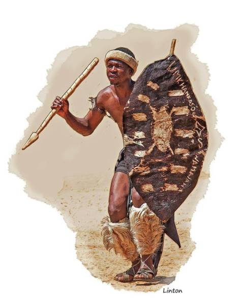 Digital Art - African Tribal Traditions 1 by Larry Linton