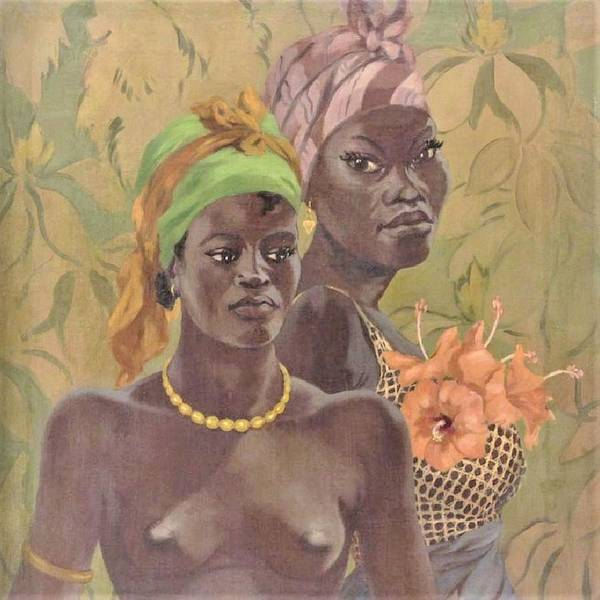 Wall Art - Painting - African Women  by Pg Reproductions